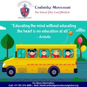 Low Investment Preschool Franchise in Delhi - Cambridge Montessori