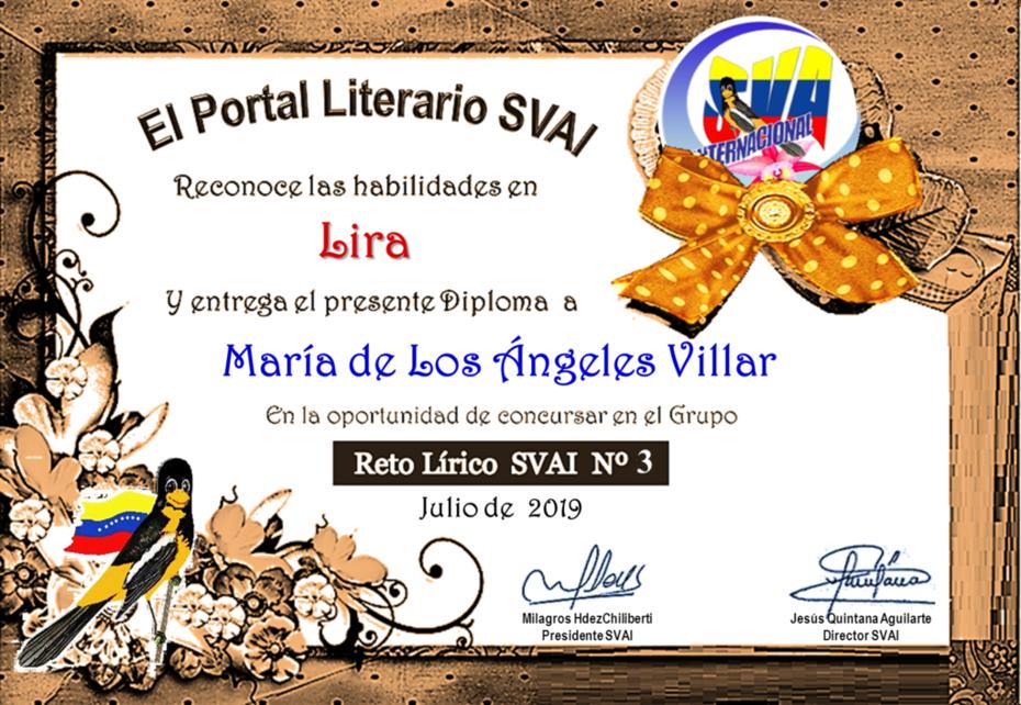MARÍA DE LOS ANGELES VILLAR
