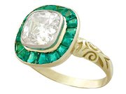 Antique Emerald Rings