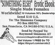 """""""SOMETHING ELSE!"""" Erotic EBook"""
