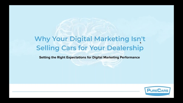 Why Your Digital Marketing Isn't Selling Cars for Your Dealership