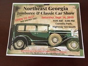 NORTHEAST GEORGIA JAMBOREE and CLASSIC CAR SHOW