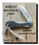 MARBLES MarlinSpike folder