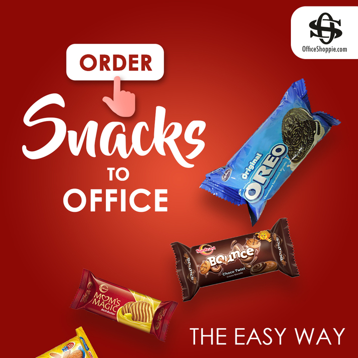 Buy office snacks online at low prices in Officeshoppie