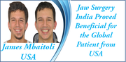 Jaw Surgery India proved beneficial for the global patient from Nigeria