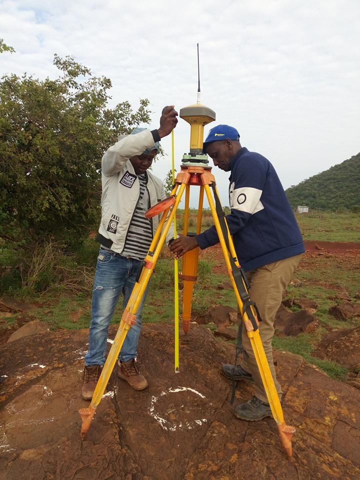 Land Surveying Students