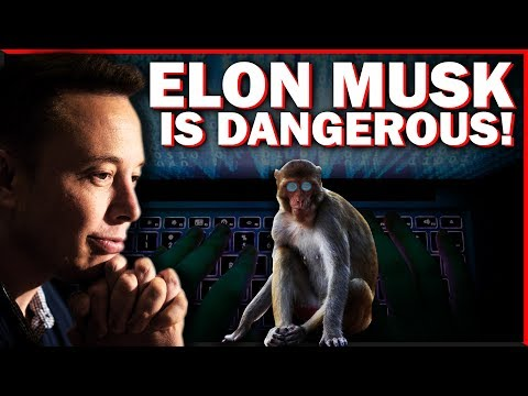 Elon Musk Created A Monkey That CAN CONTROL A COMPUTER WITH IT'S MIND!!! TRANSHUMANISM IS HERE!