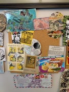 Mail Art Pinboard Middle