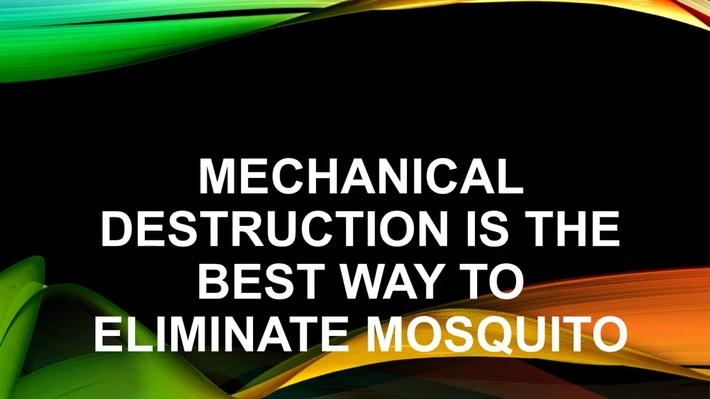 mosquito killing machine