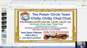 Power Circle Team Chitty Chitty Chat Chat Webinar Replay 30th July 2019