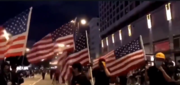 While some American are kneeling and protesting against their flag, protesters in Hong Kong are using the American flag and anthem as a symbol of freedom to rally.