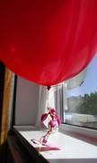 Hoshizora Miyuki with balloon