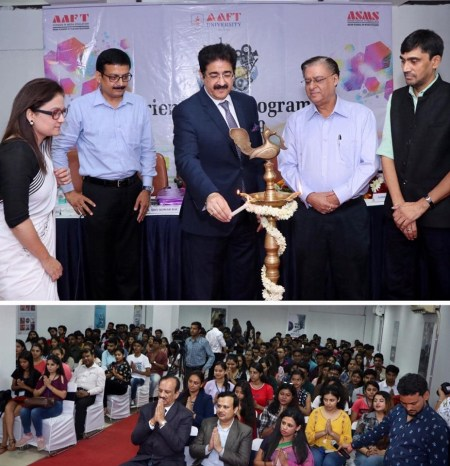 Inauguration of New Batch of AAFT School of Journalism