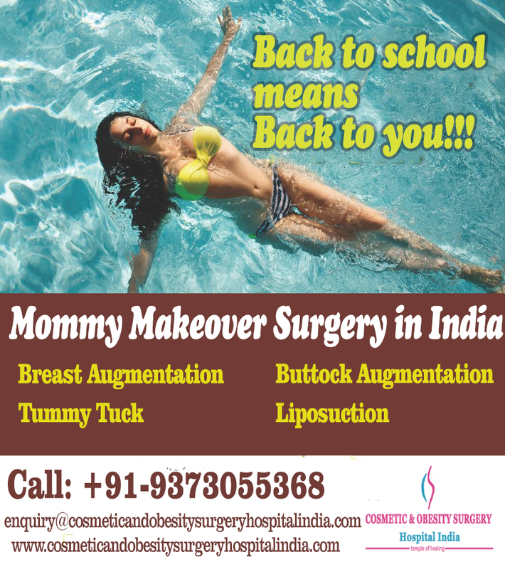 How much does Mommy Makeover Surgery cost in India?