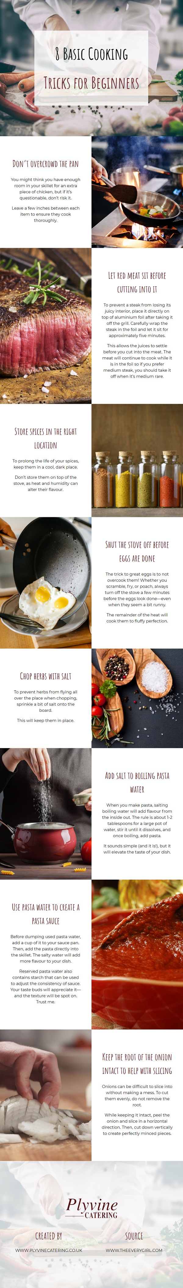 8 Basic Cooking Tricks for Beginners