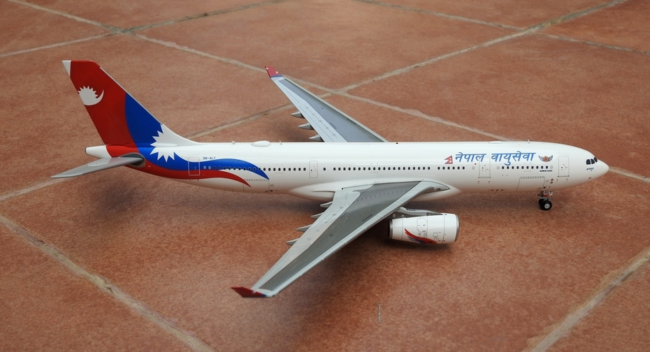 JC Wings 1:200 Nepal Airlines A330-200