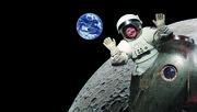 Artist on the Moon