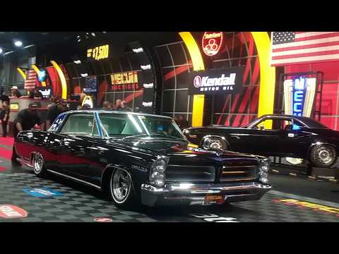 A Grand Custom Street Machine 1963 Pontiac Grand Prix  At the 2019 Mecum Harrisburg