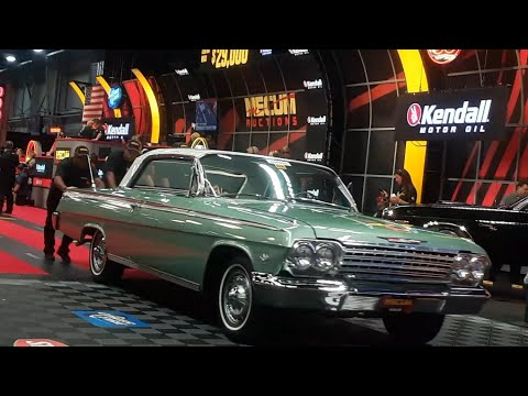 She's REAL Fine, This 409 1962 Chevy Impala 409  Sold At the 2019 Mecum Harrisburg