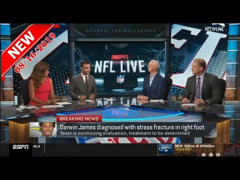 [FULL] NFL Live 8/16 - [BREAKING] Derwin James diagnosed with fracture & Avery Williamson torn ACL