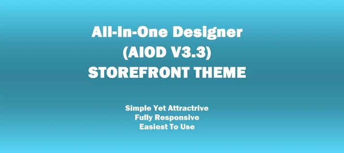 Latest Web-to-Print Storefront Theme for Online Print Store - All-in-One Designer(AIOD V3.3)