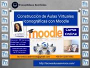 Construcción de Aulas Virtuales Iconograficas con Moodle
