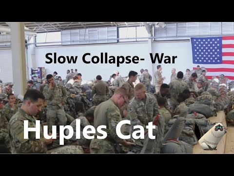 War with Iran! The Prepper Slow Collapse Series