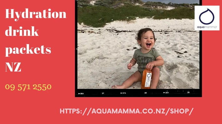 Greatest collections of hydration drink packets NZ - aquamamma