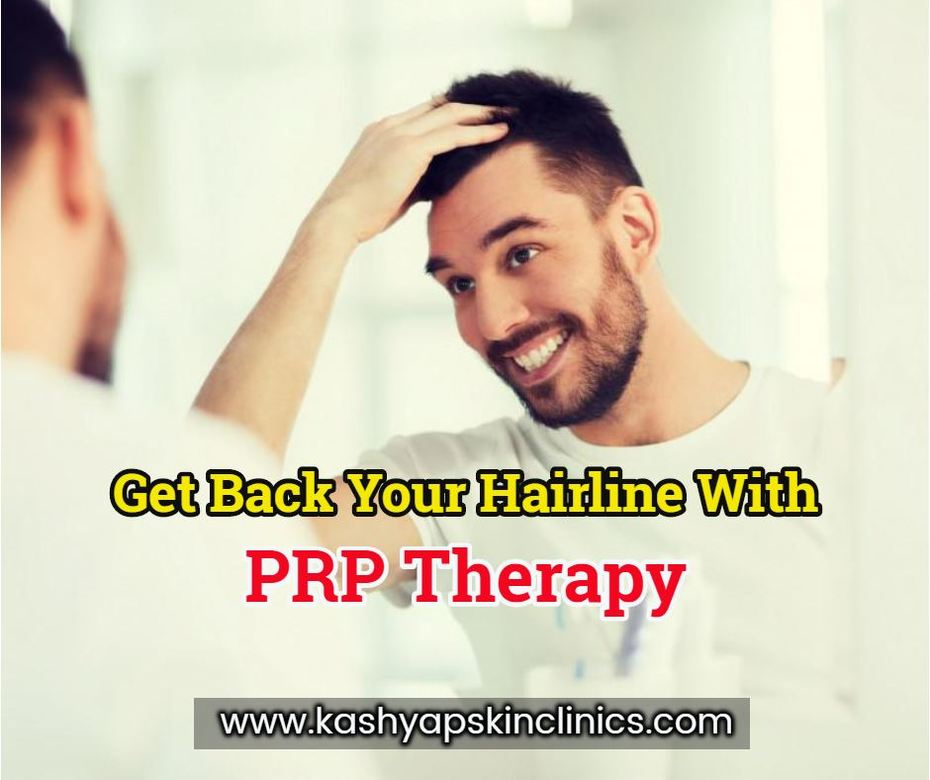 PRP therapy: A perfect solution for all your hair loss and hair fall concerns!