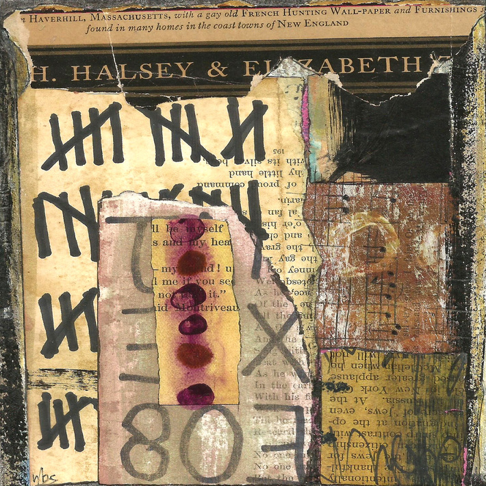 MailArt Book - Volume 19 - Nancy Bell Scott - South Portland, Maine