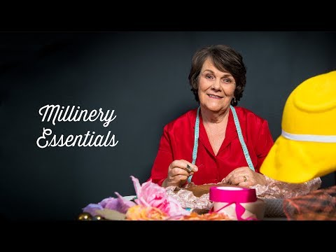Millinery Essentials - Studio Trailer