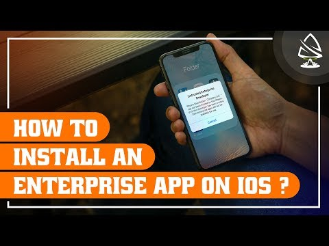 How to Install an Enterprise app on iOS? | how to install apps on iphone without app store