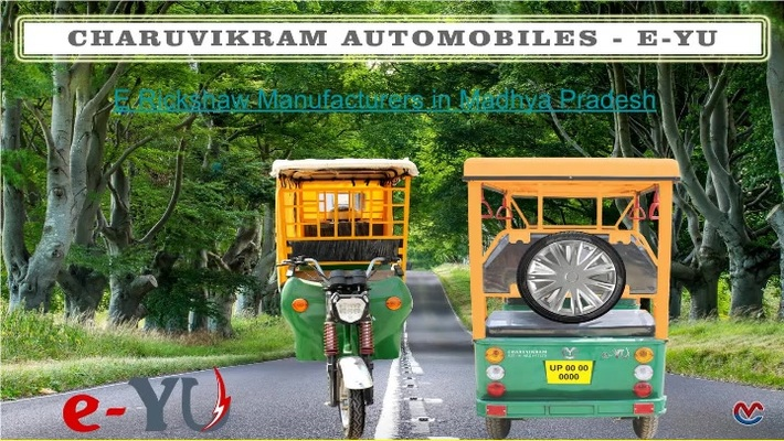 E Rickshaw Manufacturers & Suppliers in India.