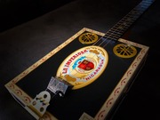 Black & Gold Cigar Box Guitar