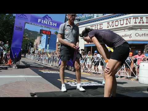Swiss runner Maude Mathys crushes Pikes Peak Marathon women's record