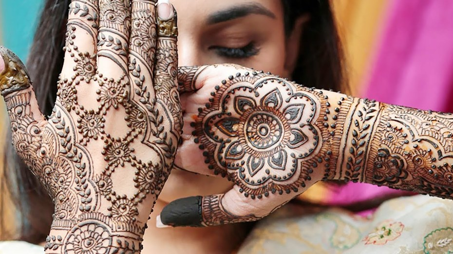 Finger Mehndi Designs with Front and Back
