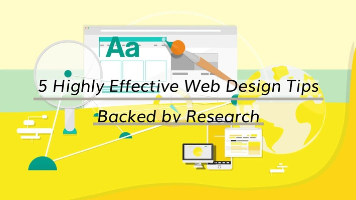 5 Highly Effective Web Design Tips Backed by Research