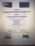 1st ANNUAL CAR & MOTORCYCLE SHOW