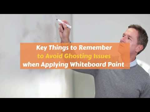 Applying Whiteboard Paint
