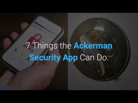 7 Things the Ackerman Security App Can Do