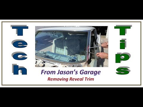 Tech Tip - Removing Reveal Trim
