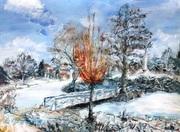 Erster Schnee in Sanssouci