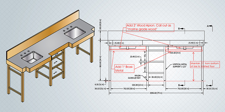 How to Solve Woodwork Design Challenges with Autodesk Inventor