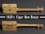 1920's cigar box banjo