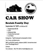 BEULAH FAMILY DAY CAR SHOW