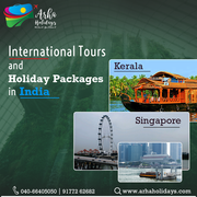 International tours and holidays pacakages india