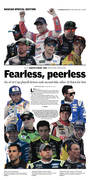 2019 South Point 400 preview section cover