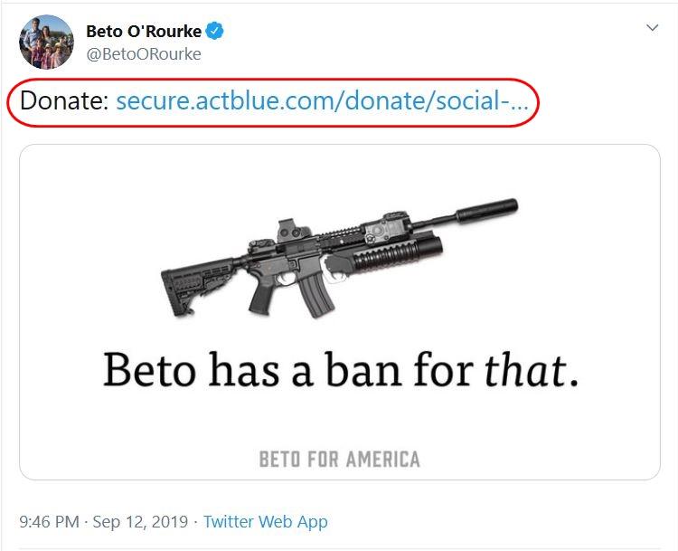 Beto-has-a-ban