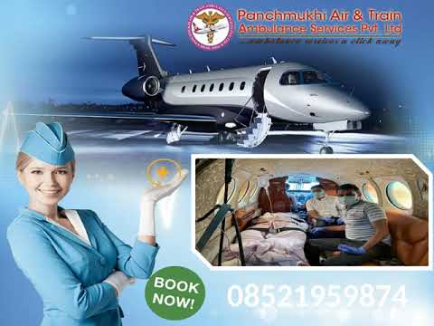 High-Class Amenities Provider-Panchmukhi Air Ambulance in Delhi to Kolkata