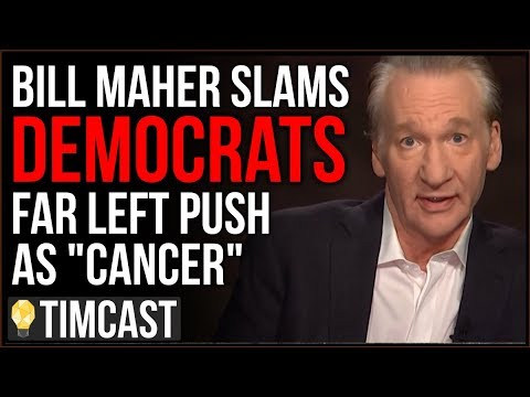 """Bill Maher On MSNBC SLAMS Far Left As """"Cancer,"""" Poll Shows Voters MORE Like Trump Than Democrats"""